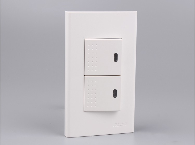 2 Gang 2 Way Switch,Multi Function 2 Way Switches,House Use Electric ...