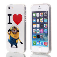 """Various Cartoon Owl Despicable Me Minions Soft TPU Back Case For iphone 6 4.7"""""""