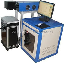 CO2 laser marking machine can mark date/flower/and mark on leather/wood/plastic etc with good quality and hot sale