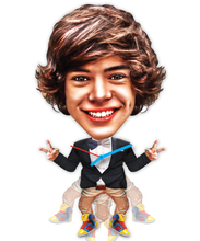 wall clock Harry Styles one direction