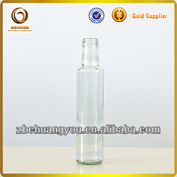 8.8oz glass oil bottle/dorica oil bottle