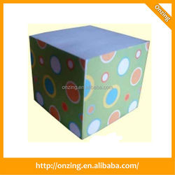 Factory direct sale enviroment friendly cube place card holder