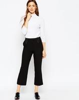 women's slack pants black pants