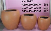 HuaWei Best Design Garden Sand blasting three sets Flower pot