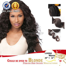 Hot sale crochet braids with human hair Extension