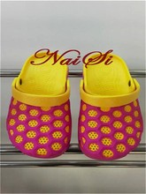Breathable Cool Stylish Soft Silicone Gel Summer Hole Shoes Slippers