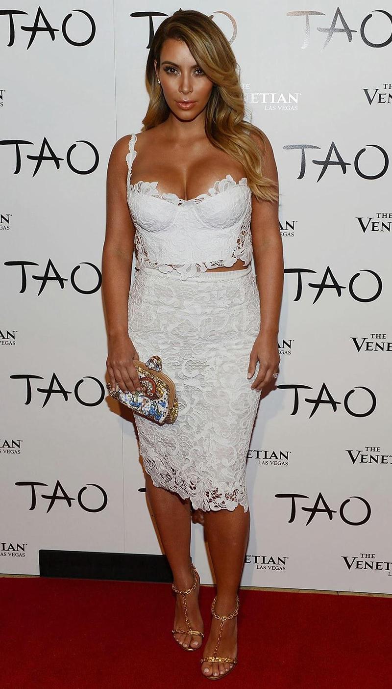 White Dress Low Cut White Lace Sheath Low Cut