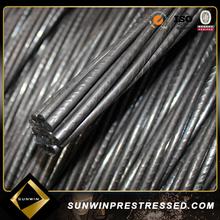 Astm grado 270 1860 MPa precompresso filo di acciaio per il commercio all'ingrosso