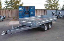 Trailer Mobile Reverse Osmosis Drinking Water Treatment System for Earthquake and Typhoon