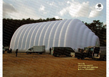 Big outdoor using inflatable exhibition building structure
