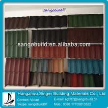 The High Quality Aluminum Steel Roofing Shingles / Roof Sheets Cost