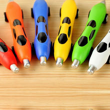 Trade Assurance Supplier Novelty Pens for Kids Promotional Mini Plastic Toy Car Shaped Ball Point Pen Custom Logo Prined NN-205