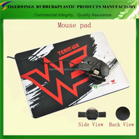 High quality rubber promotional mouse pad mat with photo insert/pvc thin mouse pad
