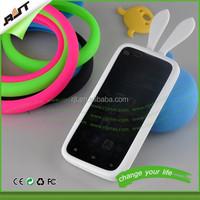 Creative gift multicolor silicon bumper case for iphone 6,for iphone 6 soft silicone bumper case