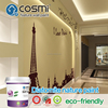 Decorative and functional wall paint for wall art decor,odorless/air purification