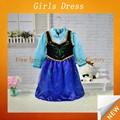 Meninas vestidos inchado/meninas vestidos de festa/modernos vestidos de meninas sfubd- 793