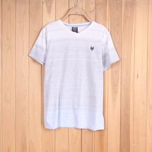5087# Stock clothing children's summer casual V-neck comfort t-shirt