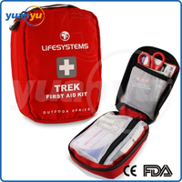 Small MOQ Emergency Medical Product YY-FS06 China Factory Small Size First Aid Kit Bag