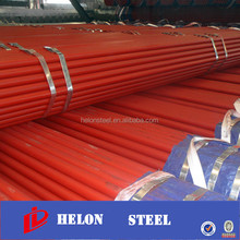 5 inch steel pipe ! round section gal steel tube spiral welded steel pipe china factory