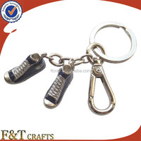 best promotional custom mini 3D sneaker sports shoe keychains