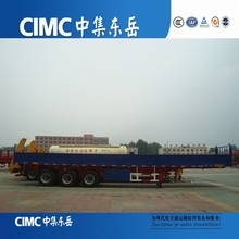 CIMC 12 Wheeles 3 Axles Bulk Cargo Semi Trailer