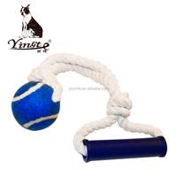 Yangzhou yingte high quality pet rope toys dog toys tennis balls