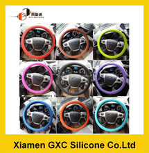 Customized silicone 13 inch steering wheel cover