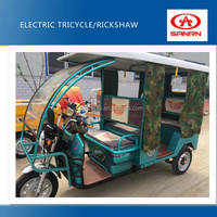 >800w three wheel motor bike/ electric auto rickshaw