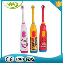 "China wholesale ""Hello Kitty"" Animal shape travel kids electric toothbrush"