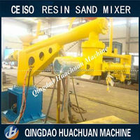 Furan and phenolic resin sand reclamation line mixing machine 15 tons/h resin sand mixer