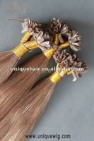 Indian remy cheap fusion hair extension