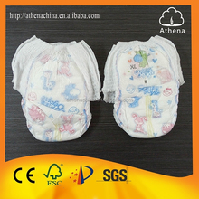 China Wholesale Free Shipping Disposable Adult Baby Pull Up Diapers