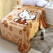 China wholesale fleece blankets/baby pictures / alibaba china
