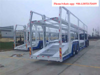 brand new 2 axle and 3 axle car carrier semi trailer for sale with low price