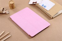 BRG The ONE Leather Stand With Transparent TPU Bumper Cover For Apple iPad Mini 1 / Mini 2 Case