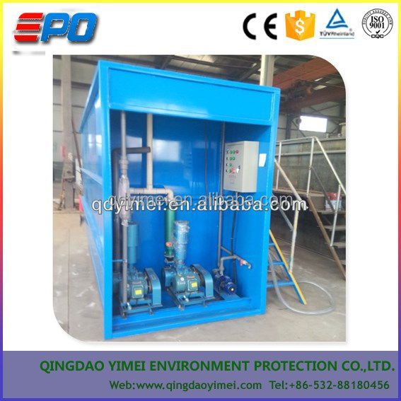 Mini Wastewater Treatment Plant : Mini waste water treatment plant for sale buy
