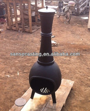 Factory direct selling outdoor cast iron wood burning stove (BSC329)