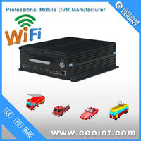COOINT Manufacturer GPS tracking 4CH HDD dvr for car with hdd, 3G card dvr