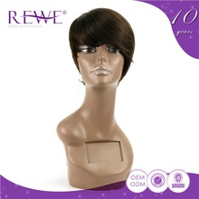 Modern Style Clean And Soft Lace Fine Chin Length Wigs Virgin