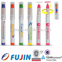 new fancy 2 in 1 Highlighter Pen with Logo