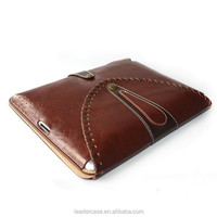 2015 leather protective envelop tablet case cover for ipad 2 3 4