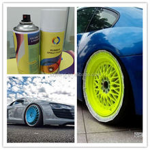 Fast Dry removable car rubber spray paint, Liquid plasti dip Guangdong