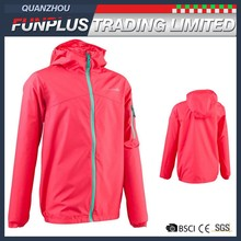 Cheap wholesale winter windproof children girls jackets with cap