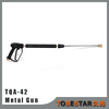 Pressure Car Washing Metal Extension Spray Gun with Stainless Steel Wand