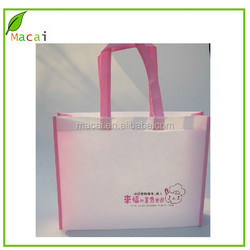 pink color personalized tote bag