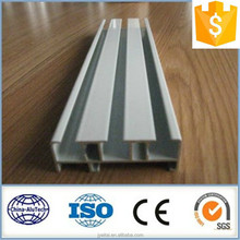 hot-sale Slot screen curtain rail, aluminium extrusion profile