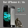 halloween and christmas Full Coverage premium tempered glass privacy screen protector for iPhone 6 / 6s