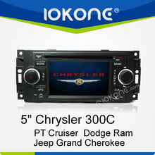 Auto Stereo GPS Navigation System for Chrysler 300C/PT Cruiser/Dodge Ram/Jeep Grand Cherokee