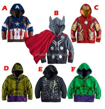 The Avengers pattern factory price wholesale kid clothes for winter