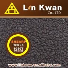 Taiwan LK 1050T dark red shearp for garment knit fabric fleece fabric manufacturers